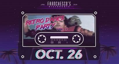 Retro Dance Party Franchesco Ristorante Night