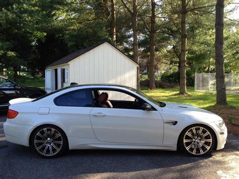 2008 Bmw M3 Alpine White On Fox Red Interior, Extended