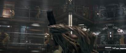 Rocket Guardians Galaxy Prison Marvel Groot Scene