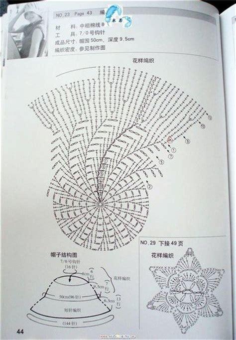 crochet panama hat  girls   pattern