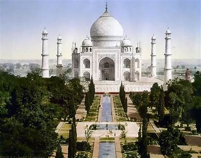 Mahal Taj Indian Place Historical India Agra