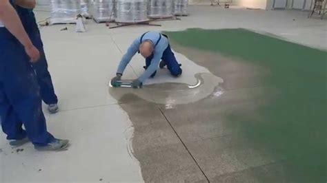 epoxy flooring  quartz bautech floors youtube