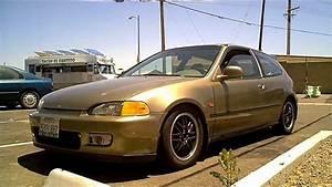 1992 Honda Civic Eg Hatchback With Gsr Swap And Duckbill