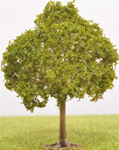 Pl20102  55mm Tall Fruit Tree  No Fruit  The Model Tree