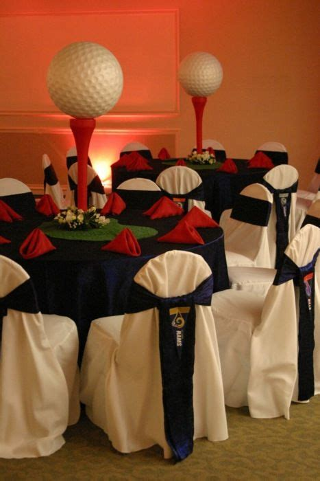 sports centerpieces for tables table idea for sport theme party high sports