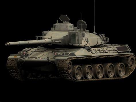 AMX 30 tank 3d model 3dsmax files free download   modeling