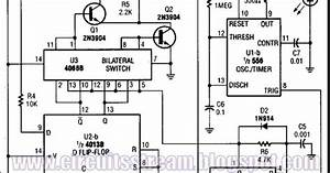 Digital Pulser Circuit Diagram