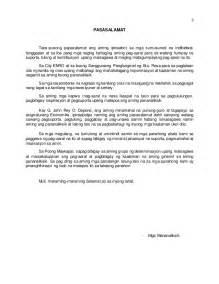 thesis pananaliksik tagalog