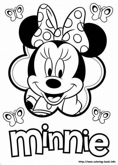 Minnie Mouse Coloring Pages Z31 Instagram