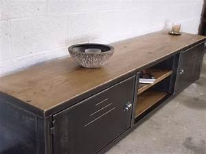 Meuble Industriel Ikea : ikea meuble bas salon ~ Teatrodelosmanantiales.com Idées de Décoration