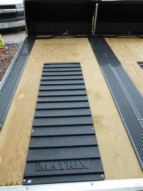 Flooring rolls can be made of either vinyl or rubber, and these materials have different properties and benefits. Upgrades For Your Snowmobile Trailer That Will Make The ...
