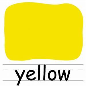 Clip Art: Colors: Apple 05: Yellow Color | abcteach