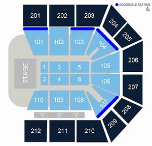Seating Charts  U2013 College Park Center  U2013 The University Of
