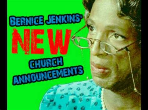Rickey Smiley Church Announcements
