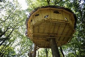 Comment Construire Une Cabane à écureuil : cabanes du bois landry accessibles par un escalier ~ Melissatoandfro.com Idées de Décoration
