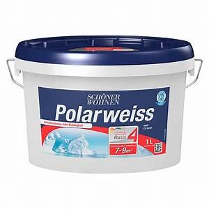 Schöner Wohnen Polarweiss : sch ner wohnen wandfarbe polarwei basis 4 ~ Watch28wear.com Haus und Dekorationen
