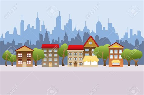 City Clip City Clipart City Background Pencil And In Color City