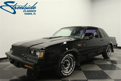 Grand National Car For Sale by 1987 Buick Grand National Streetside Classics The