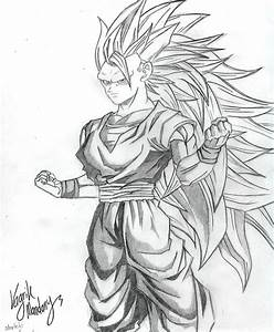 Goku Super Saiyan 3 By Pokriktiger On Deviantart