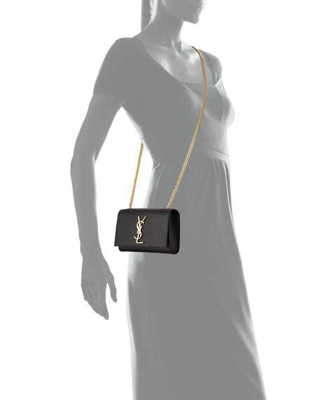 saint laurent kate monogram ysl leather crossbody bag