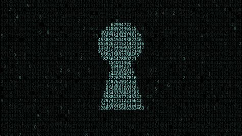 Tech Security Illustration Code And Key Hole Uhd 4k