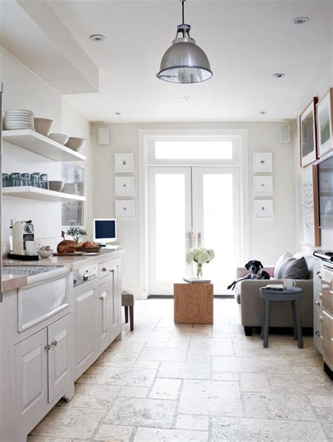 white kitchen light floors 7 kitchens we love 430 | galley