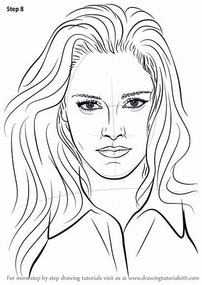 Stewart Kristen Step Draw Drawing Coloriage Coloring