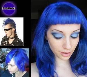 Blue Mayhem Semi Permanent Hair Dye By Special Effects