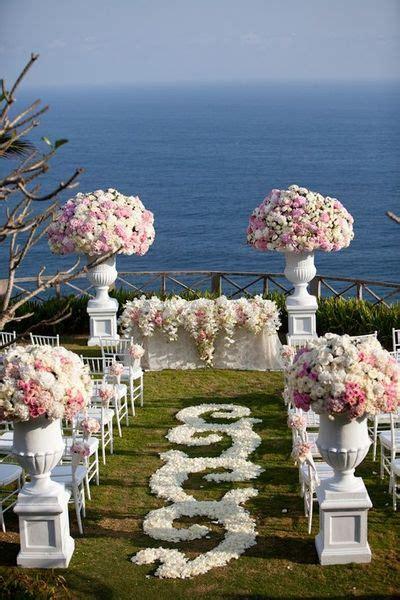 White And Blush Pink Wedding Ceremony Photo Samuel