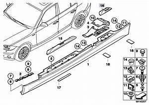 Bmw 528i Door Sill Parts Diagram