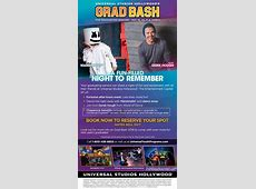 Class of 2018 Save the Date for the Universal Studios
