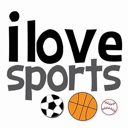 Sports Clipart Softball Crafts Clip Baseball Basketball