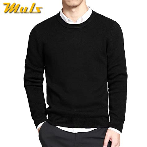 mens black sweater aliexpress com buy sweaters pullover brand polo