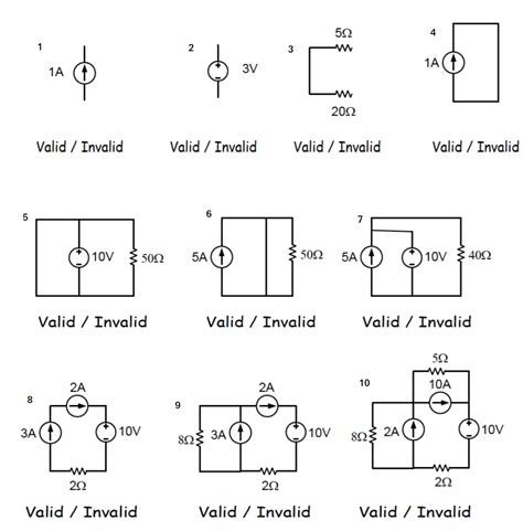 Basic Circuit Validity Problem Electrical Engineering