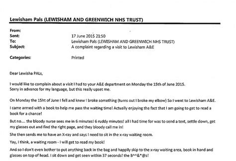 mother yael biran writes complaint letter  london ae