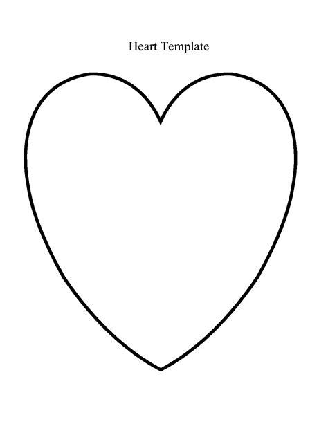Template Heart Template