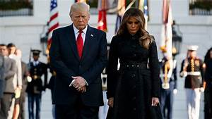 President Donald Trump leads moment of silence to mark 9 ...