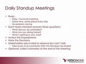 The agile pmp workshop for Stand up meeting minutes template