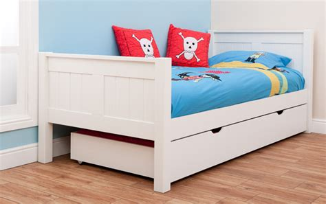 childrens trundle beds stompa classic single bed with trundle rainbow wood 11120