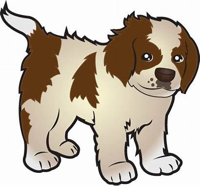 Puppy Clipart Clip Cartoon Cliparts Puppies Bernard
