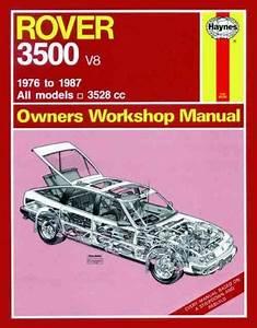 Rover 3500 V8 1976 1987 Haynes Service Repair Manual