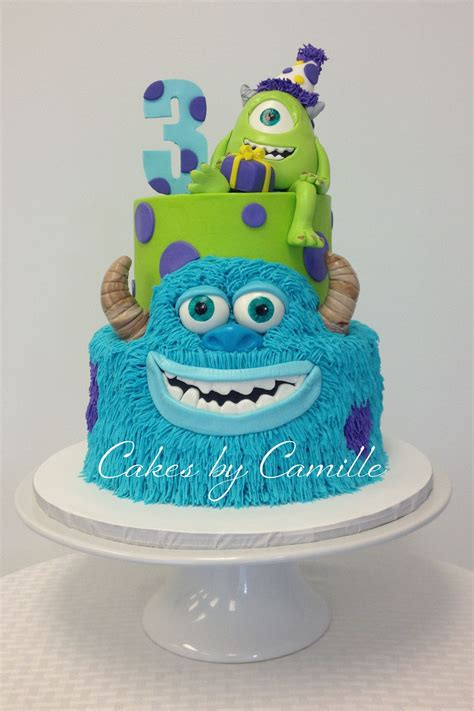 monsters  university birthday cake mike  sulley
