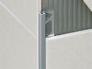 Angle Carrelage Sans Baguette : multipurpose profiles for ceramic tile coverings squarejolly sj by profilitec ~ Farleysfitness.com Idées de Décoration