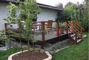 Terrasse Tiefer Als Garten : garten h her als terrasse ~ Orissabook.com Haus und Dekorationen