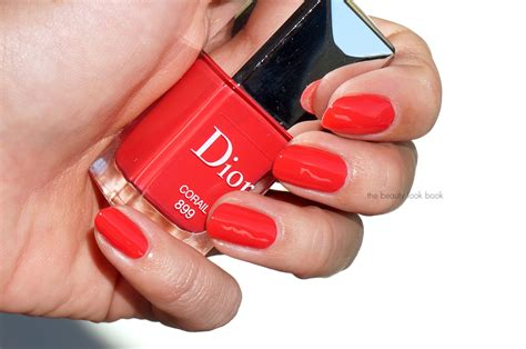 Dior Vernis In Rose 499, Pink 599 And Corail 899