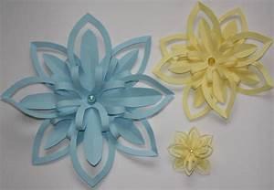 Blumen Aus Papier : tischdeko aus papier basteln ~ Udekor.club Haus und Dekorationen