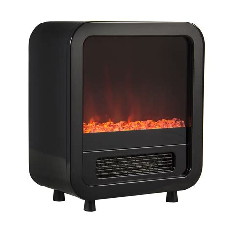 Electric Adjustable Fireplace Portable Mini Compact Indoor