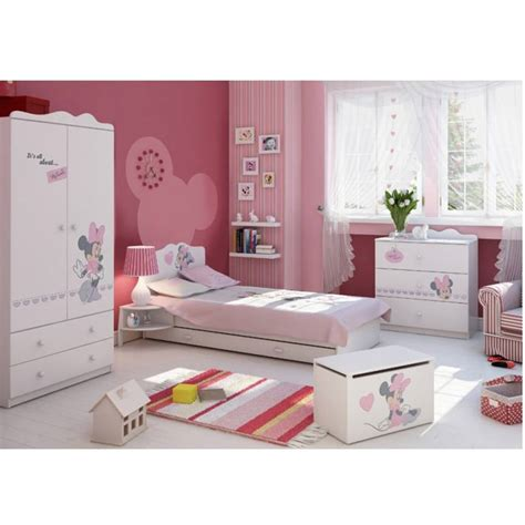 commode chambre fille armoire minnie mouse 135 cm azura home design