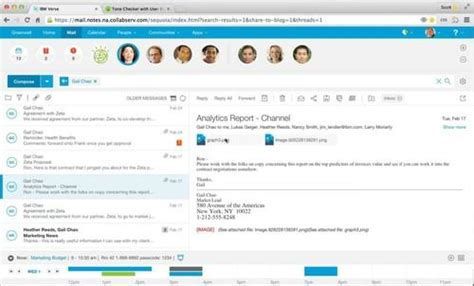 Ibm Joins Race To Upgrade Webmail Interface With Verse