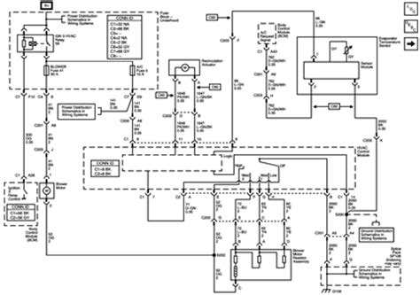 2005 Chevy Silverado Heater Wiring Diagram by Solved I A 2007 Chevy Colorado That The Heater Quit